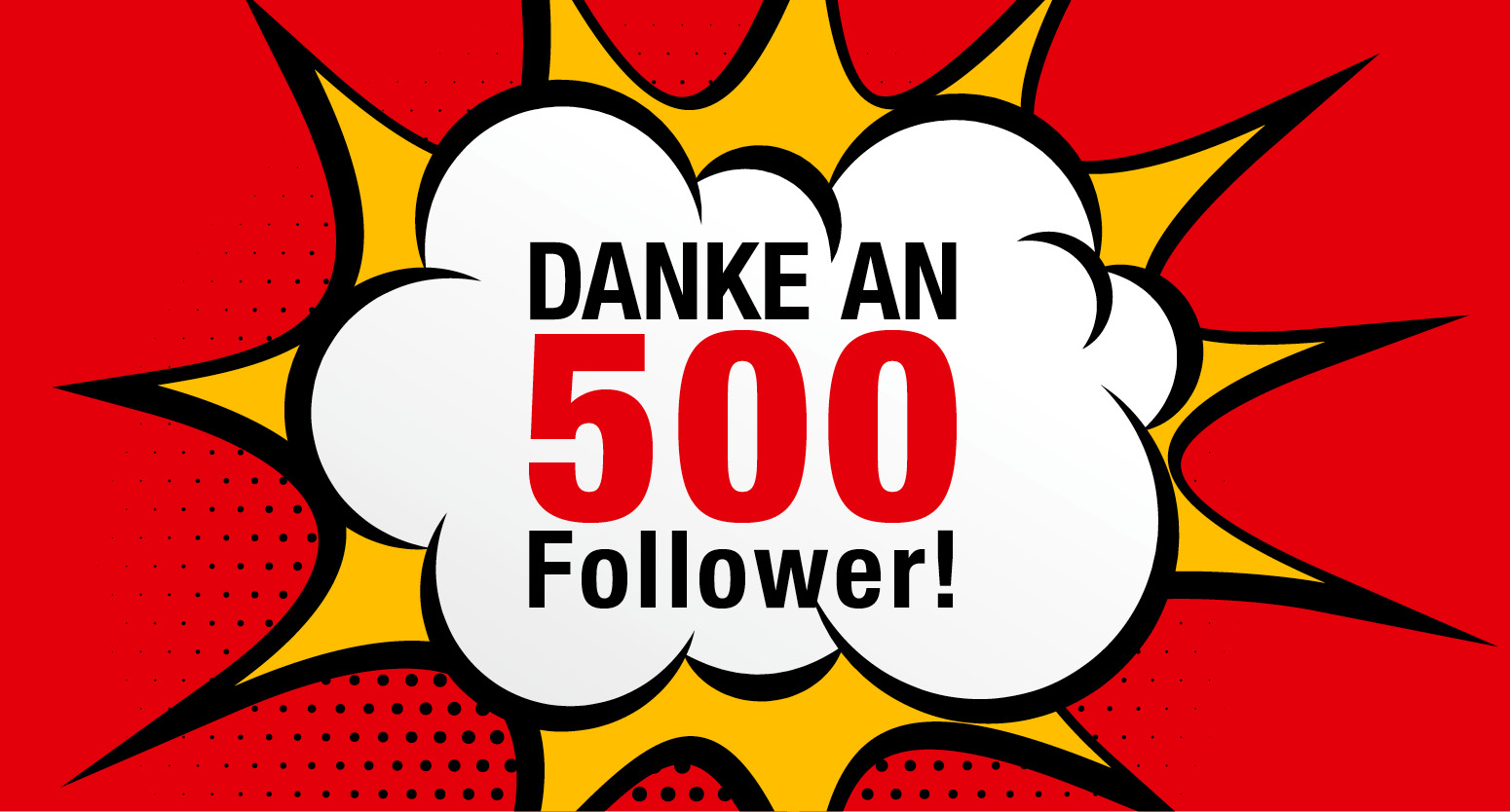 RAPA sagt Danke für 500 Follower!
