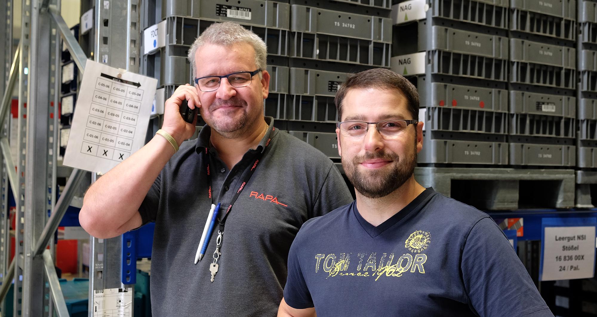 Andreas Herrmann und Ronny_Friedrich