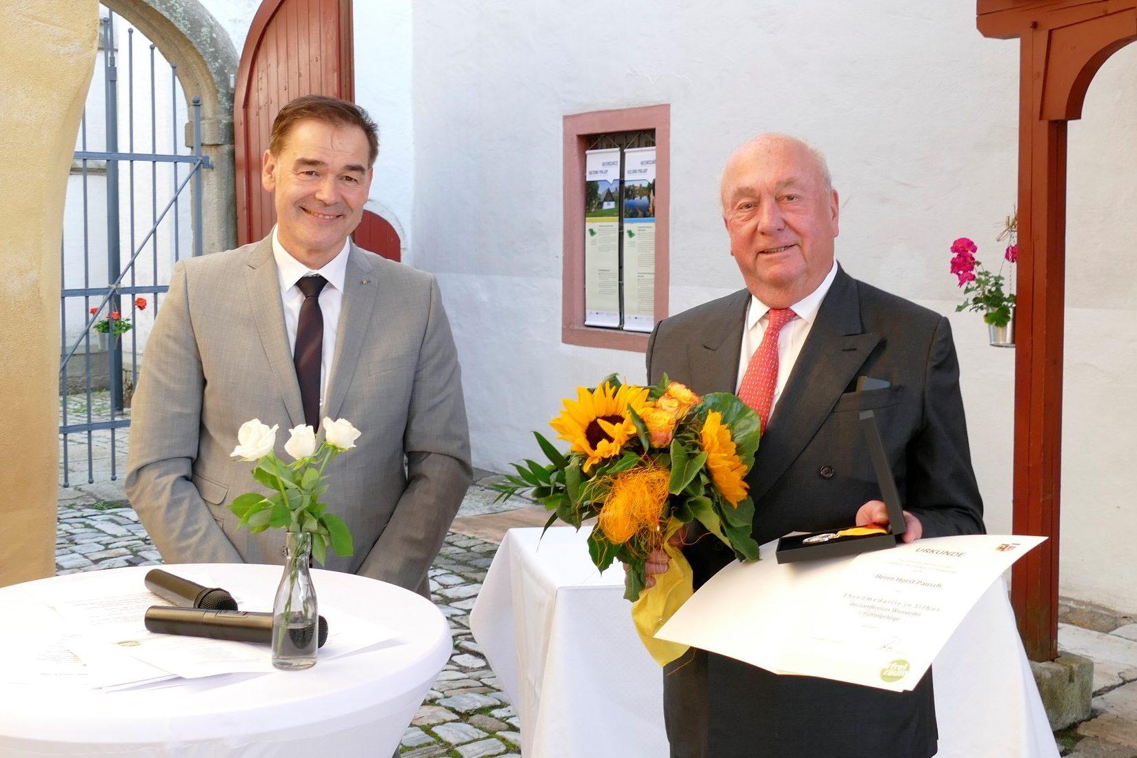 Horst Pausch mit Ehrenmedaille in Silber ausgezeichnet