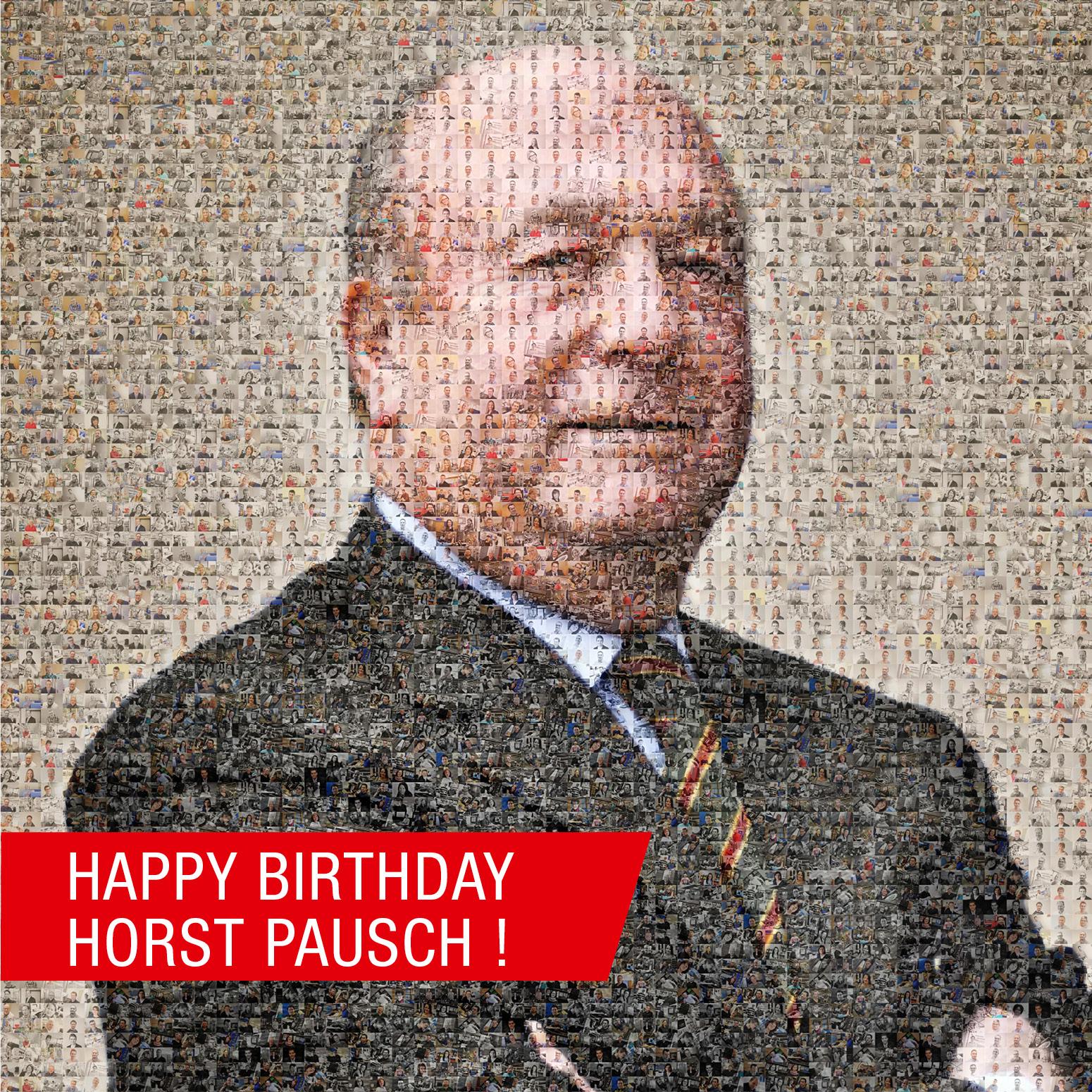 Herzlichen Glückwunsch zum Geburtstag, lieber Horst Pausch!