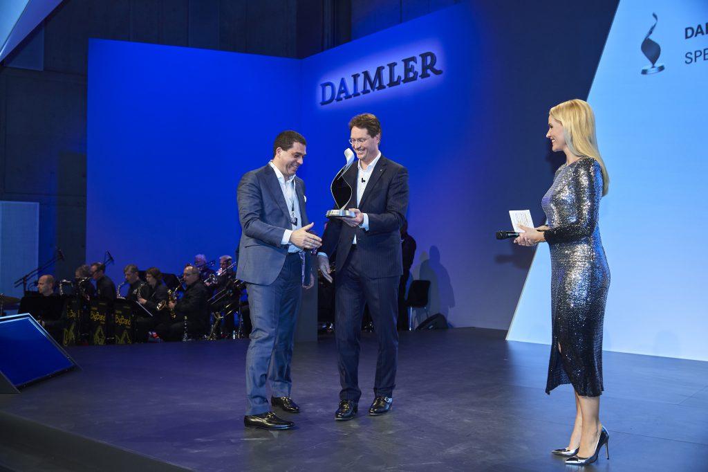 RAPA mit dem Daimler Special Award für Innovation ausgezeichnet