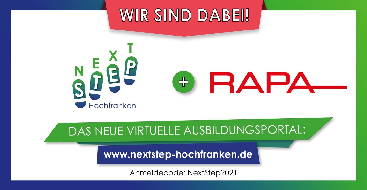 Ausbildungsportal NextStep Hochfranken - Wir sind dabei!