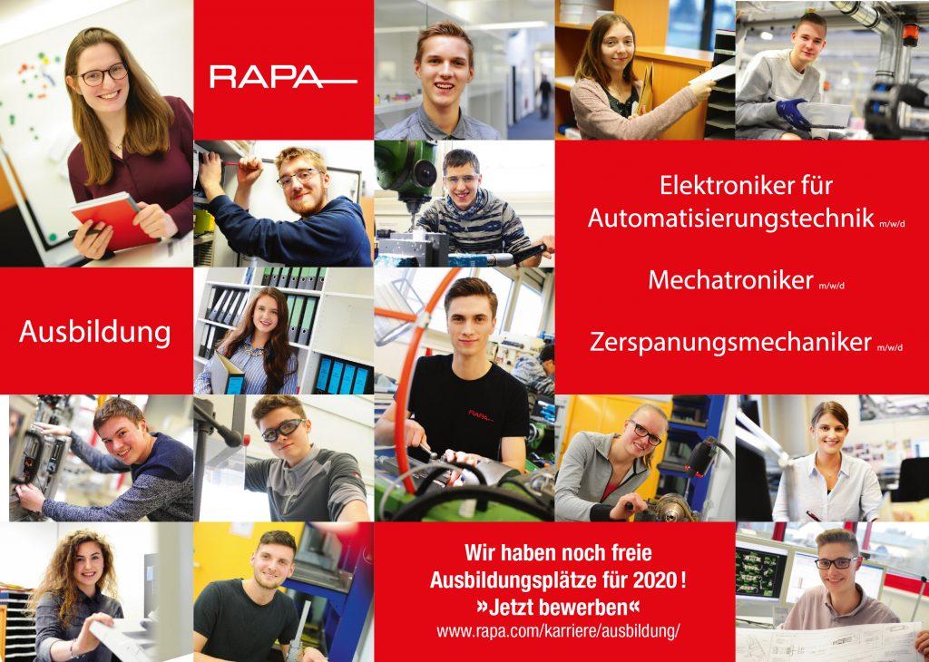 Offene Ausbildungsplätze 2020
