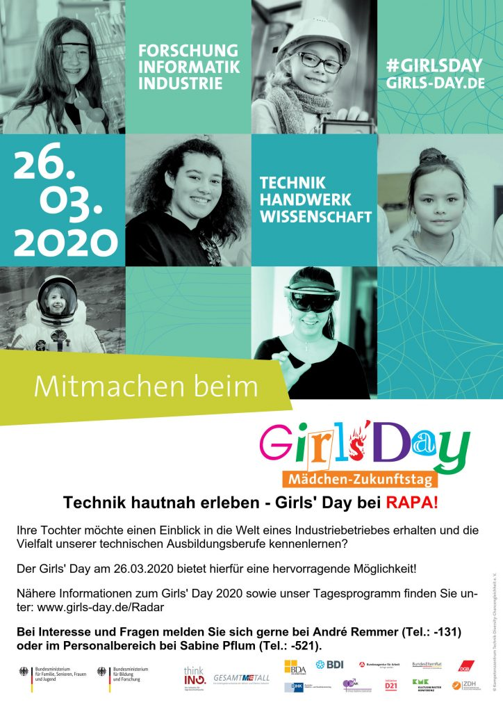 Girl´s Day bei RAPA