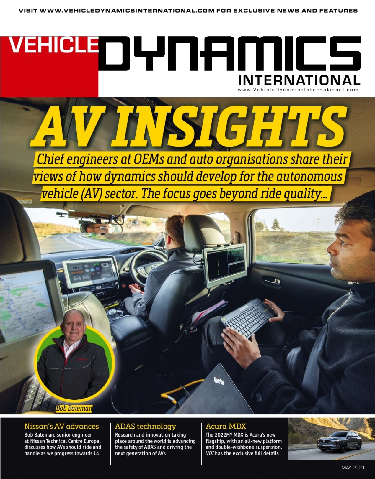 Vehicle Dynamics International May 2021 Cover