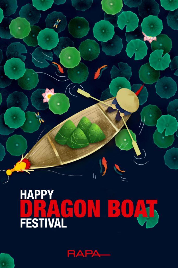 Happy Chinese Dragon Boat Festival