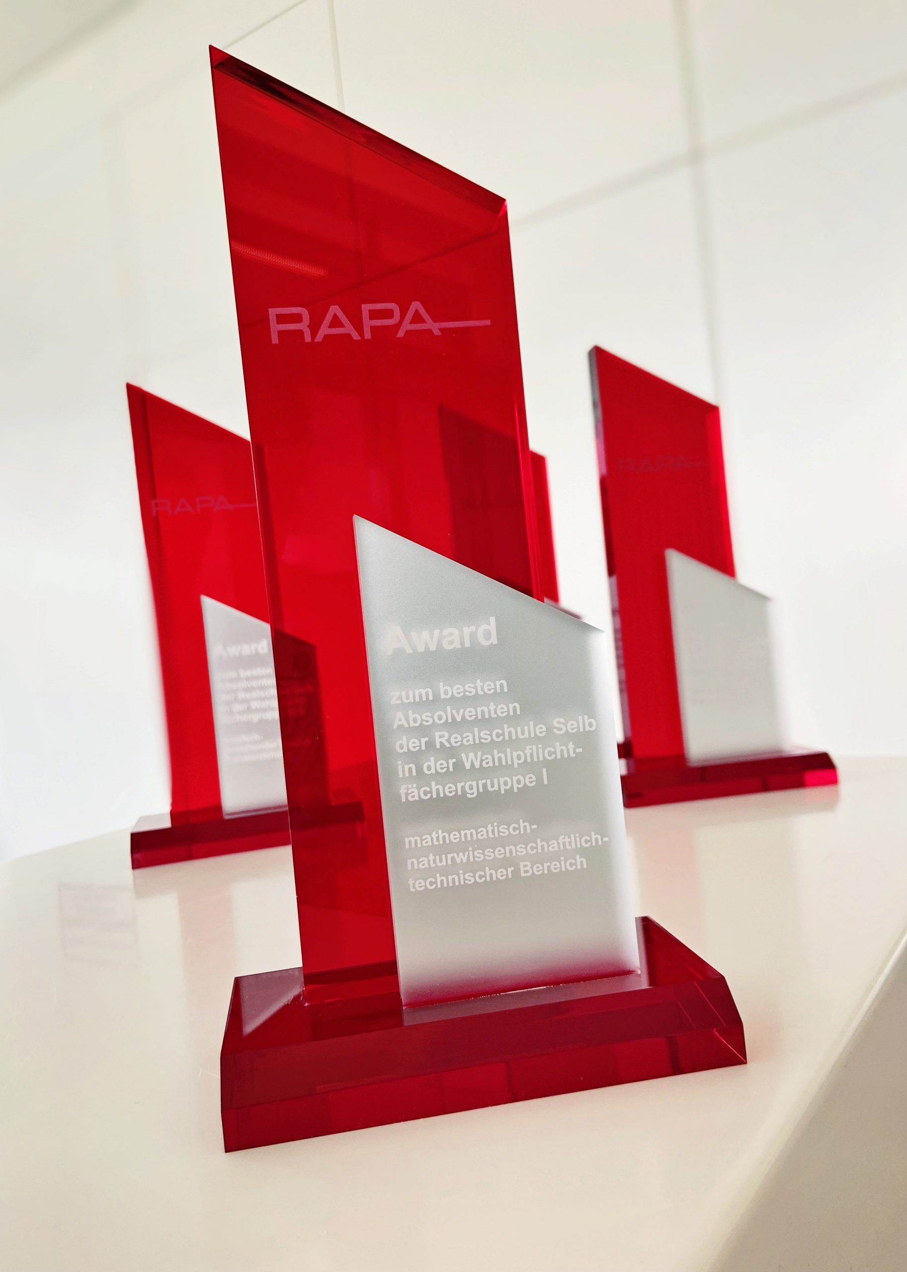 RAPA Excellence Award for Realschule Graduates