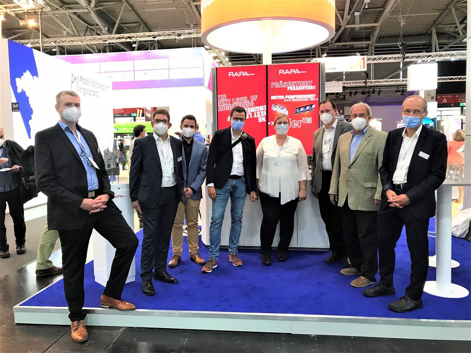 Review of IAA Mobility 2021: A great success for RAPA