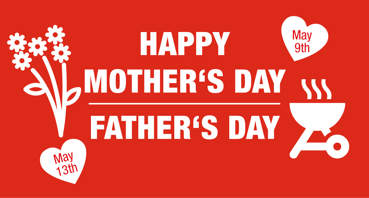 Happy Mother´s and Father´s Day